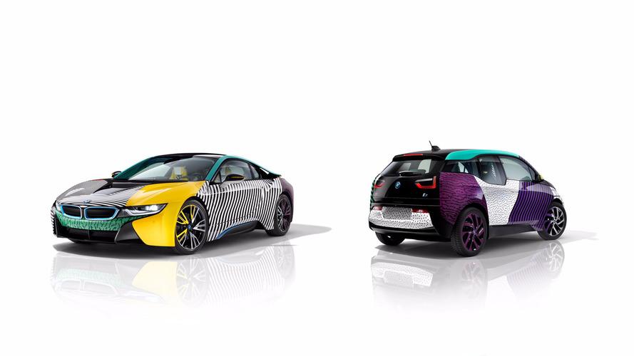 BMW i3 et i8 Memphis Style - Quand l'automobile devient objet d'art