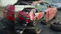 Crashed 2017 Alfa Romeo Giulia