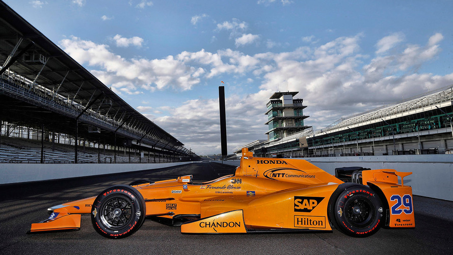 This Is Fernando Alonso's Indy 500 Race Car