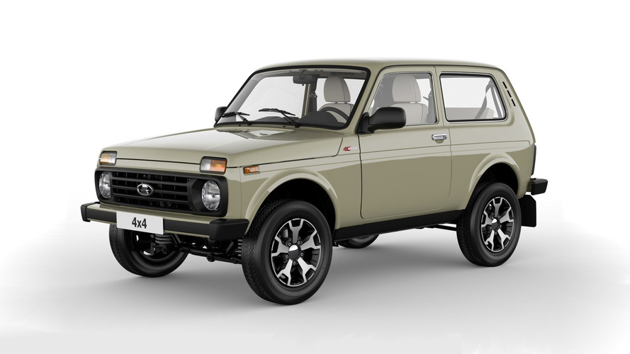 Lada 4х4 40th Anniversary Edition Is The Coolest New Old Car