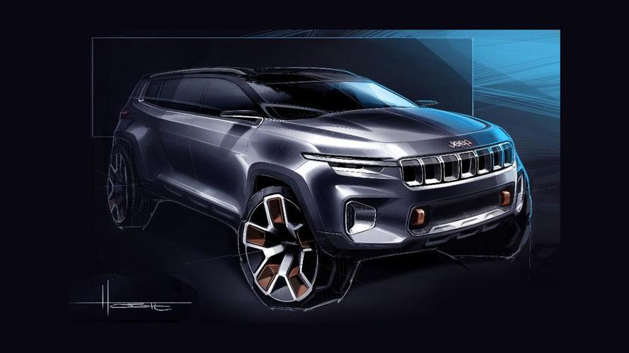Novo Jeep de 7 lugares será exclusivo para o Brasil