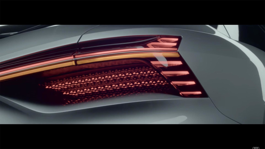 Audi Teases Abundant LEDs On Rear Of New Concept