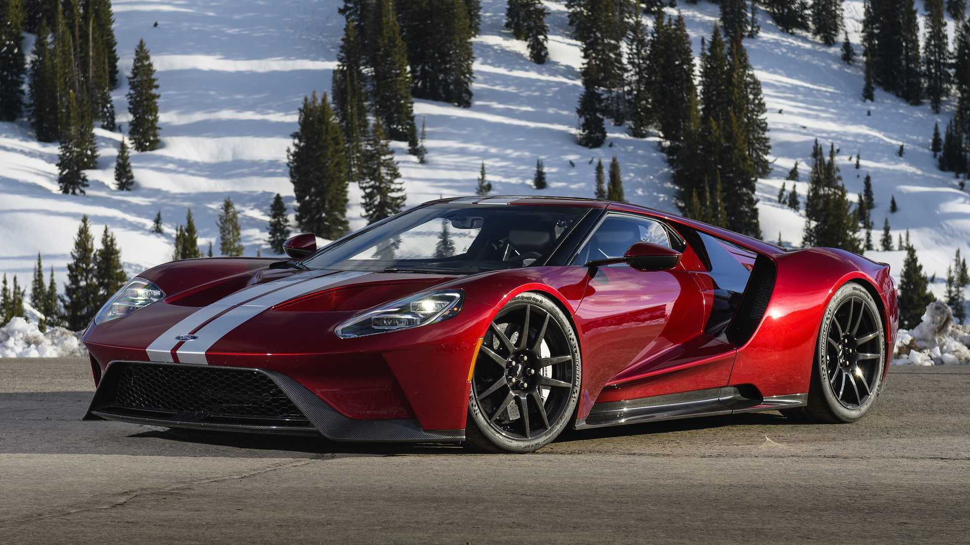 Ford GT Uses Same Gearbox As Mercedes-AMG GT