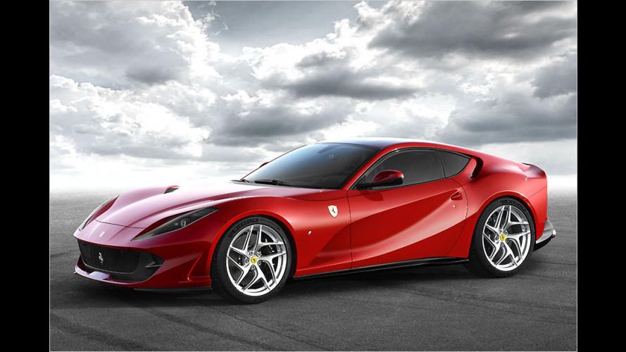 Ferrari 812 Superfast: F12-Nachfolger mit 800 PS