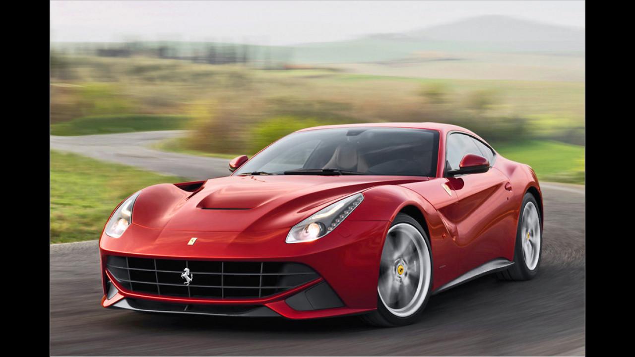 10. Ferrari F12