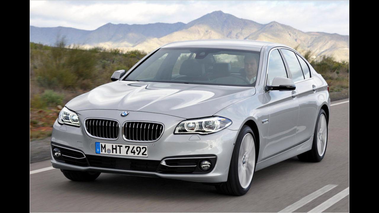 Platz 6: BMW 5er-Reihe, Durchschnittspreis 62.275 Euro