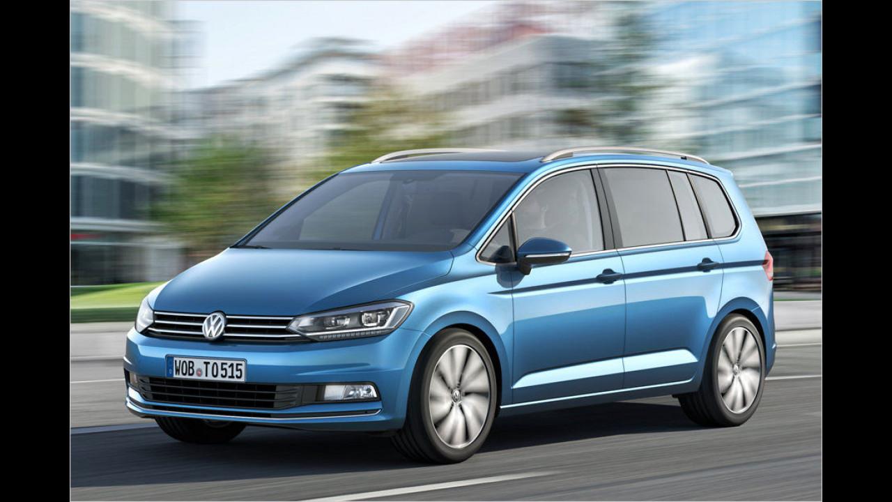 Vans, Großraum-Vans und Utilities: VW Touran