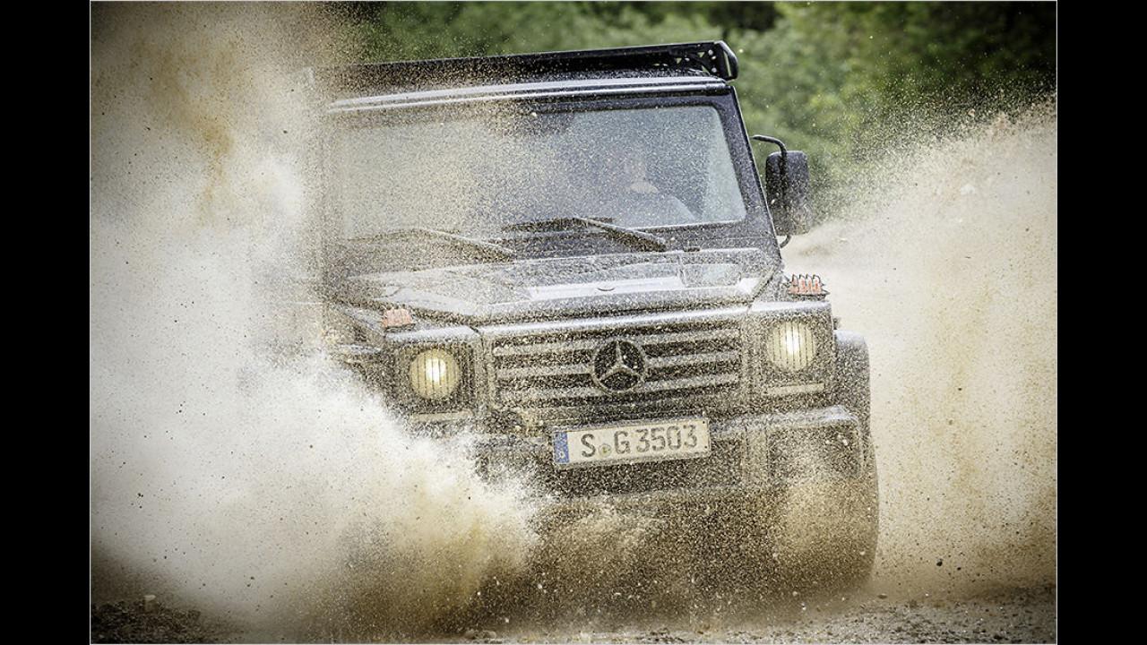 Flop: Mercedes G 350d Professional