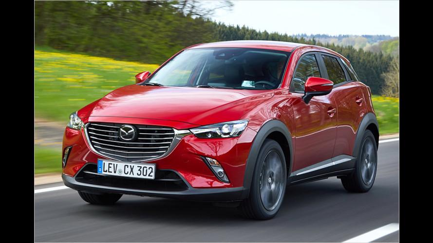 Mazda CX-3 (2017) im Test: Gelungene Größe