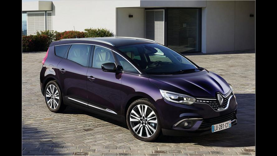 Renault Scénic und Grand Scénic als luxuriöse Initiale-Paris-Modelle