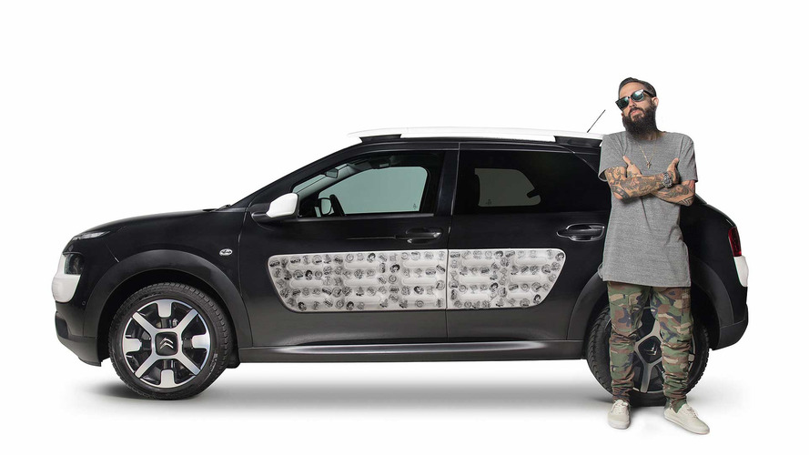 "Citroën C4 Cactus by Bnomio, con Airbump ""tatuados"""