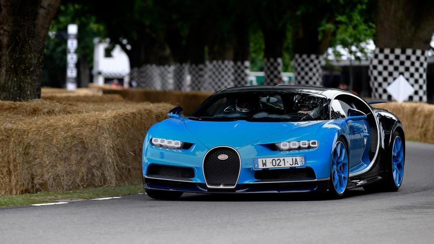 Bugatti Chiron at Goodwood 2017