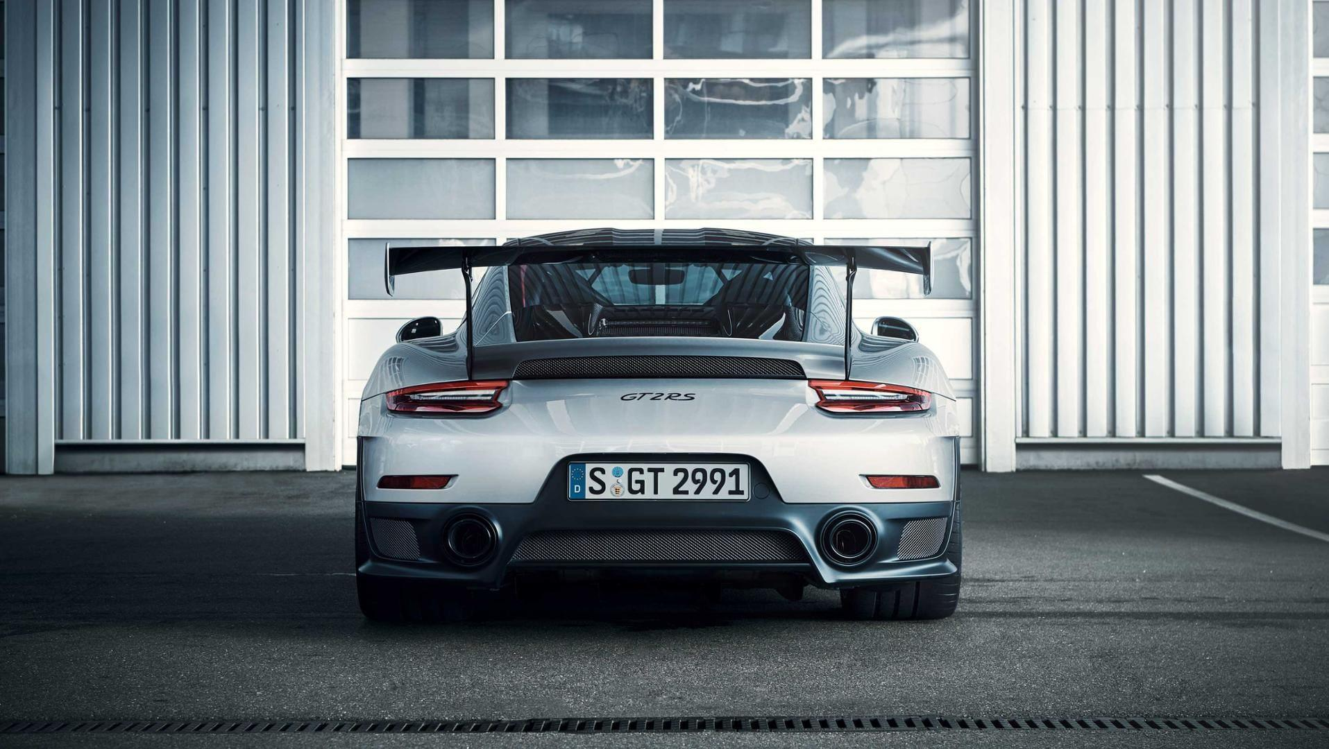 Un Porsche 911 Gt2 Rs Sufre Un Accidente En Gales