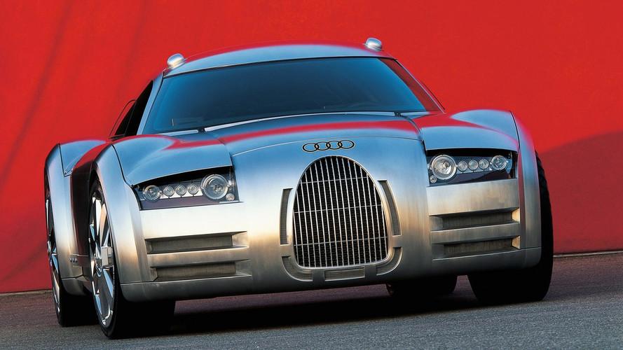 Концепт-кар Audi Rosemeyer и гоночный Audi Silver Arrow