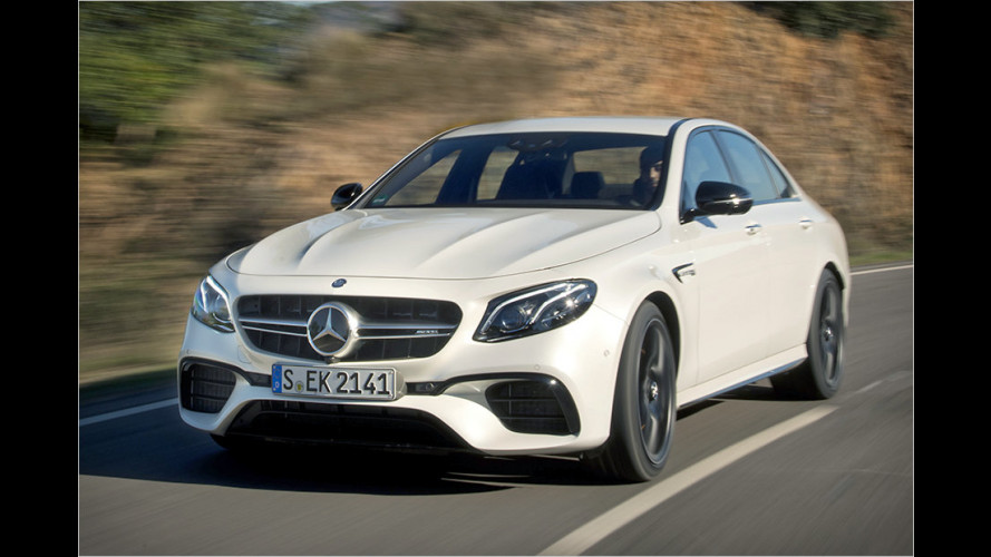 Mercedes-AMG E 63 S 4Matic+ (2016) im Test