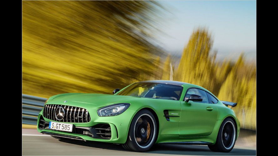 Mercedes-AMG GT: Heiße Eisen