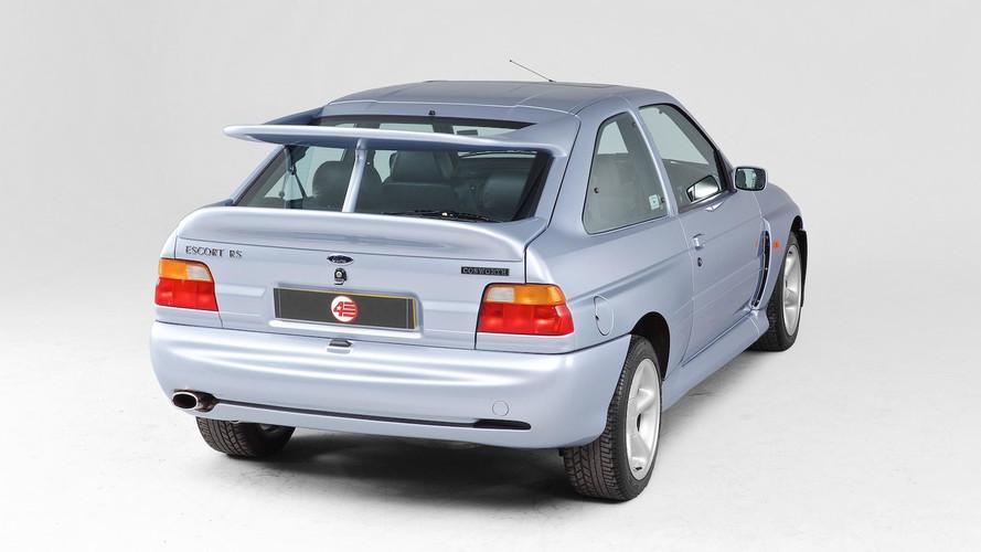 Ford Escort Cosworth'un kanadı, ilginç bir ilham kaynağına sahipmiş