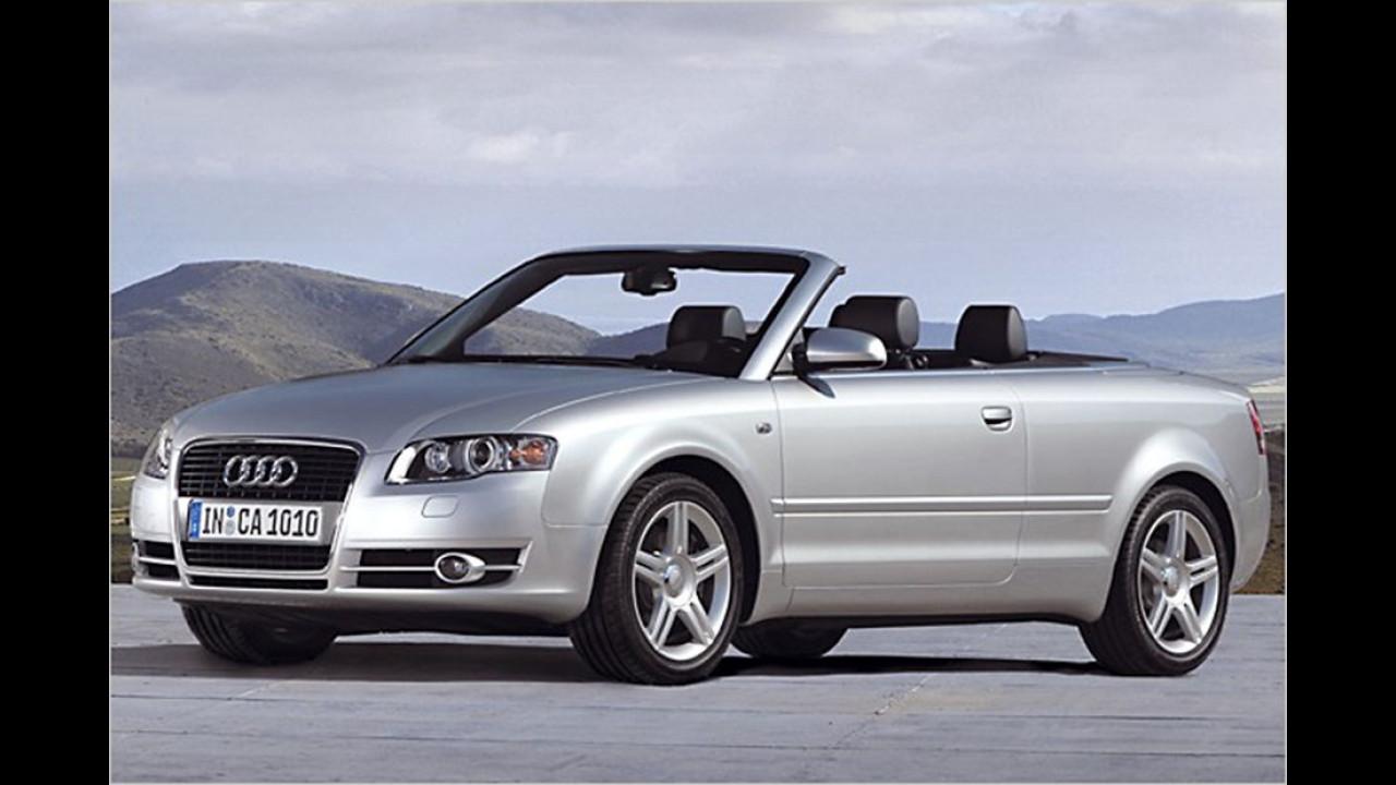 Platz sieben: Audi A4 Cabrio