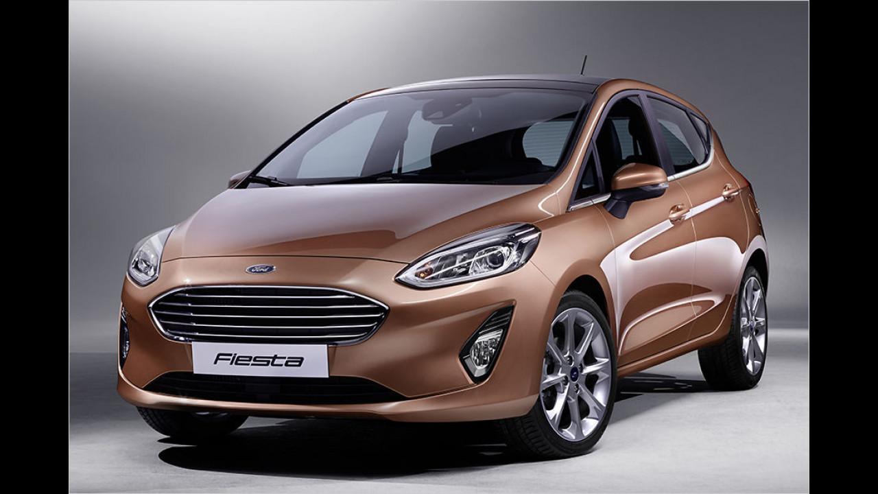 Platz vier: Ford Fiesta