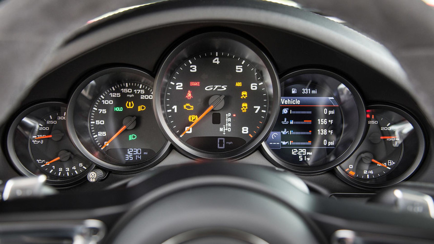 Porsche 911 Spied With Almost-All-Digital Instrument Cluster