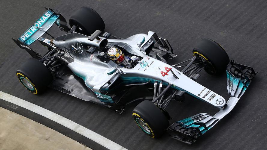 Mercedes'in 2017 Formula 1 silahı: W08 Hybrid