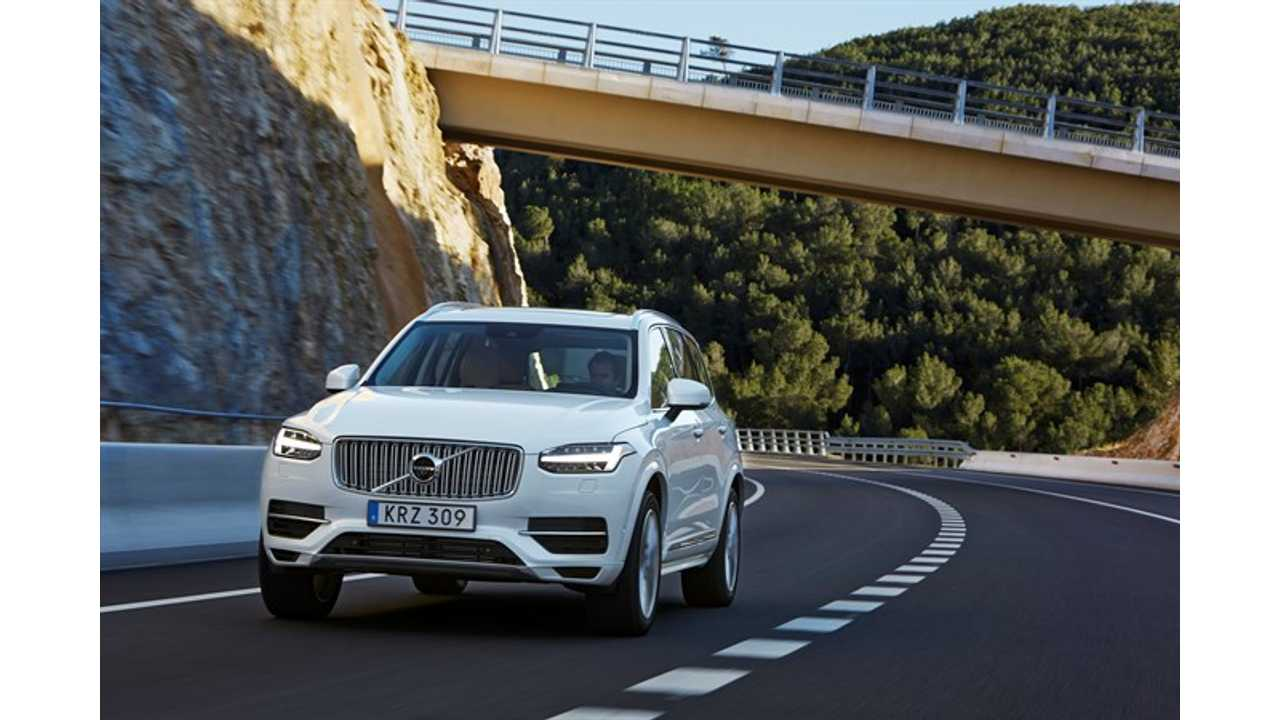 Tesla Model X Delay Makes Volvo XC90 T8 Twin Engine The World's Most Powerful & Cleanest SUV