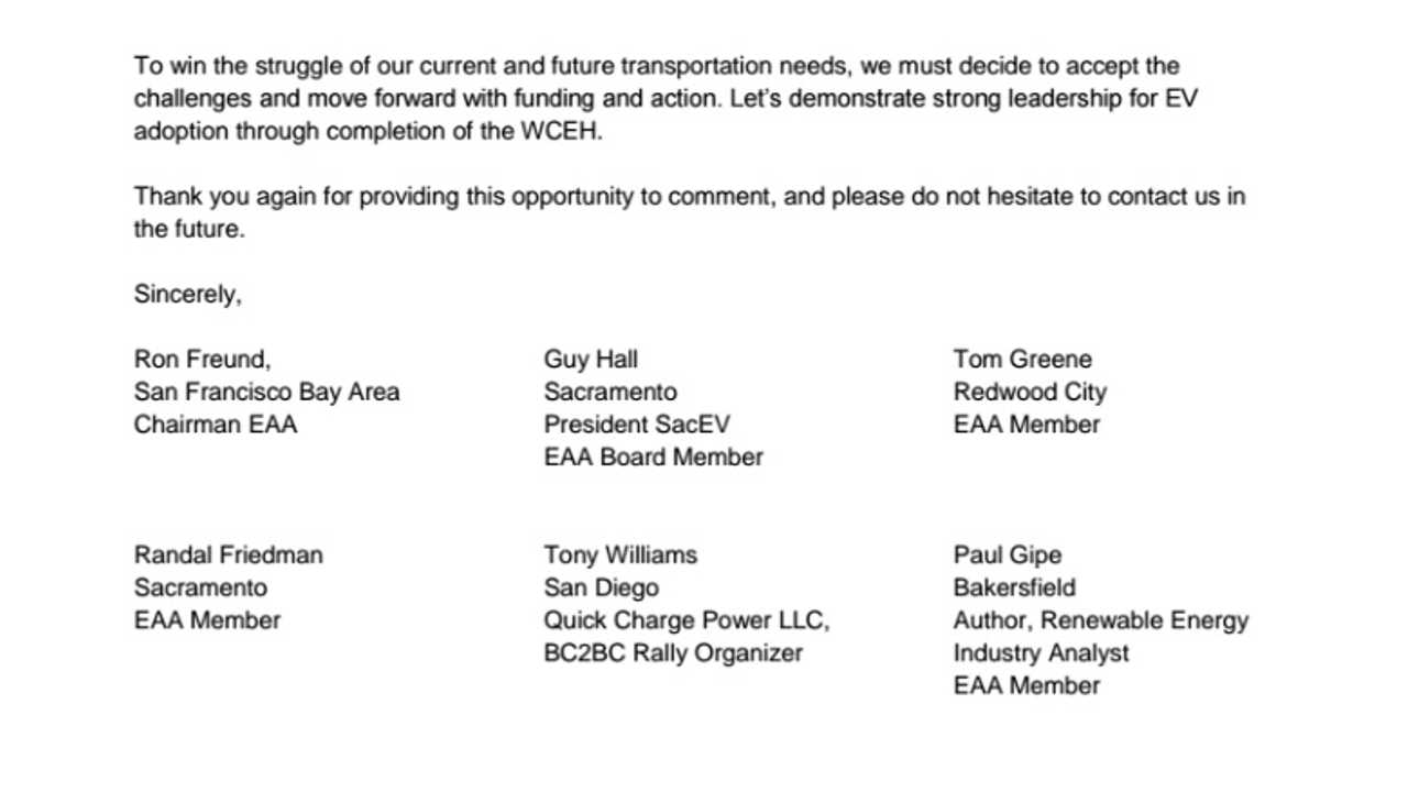 Open Letter Re: West Coast Electric Highway - Page 5