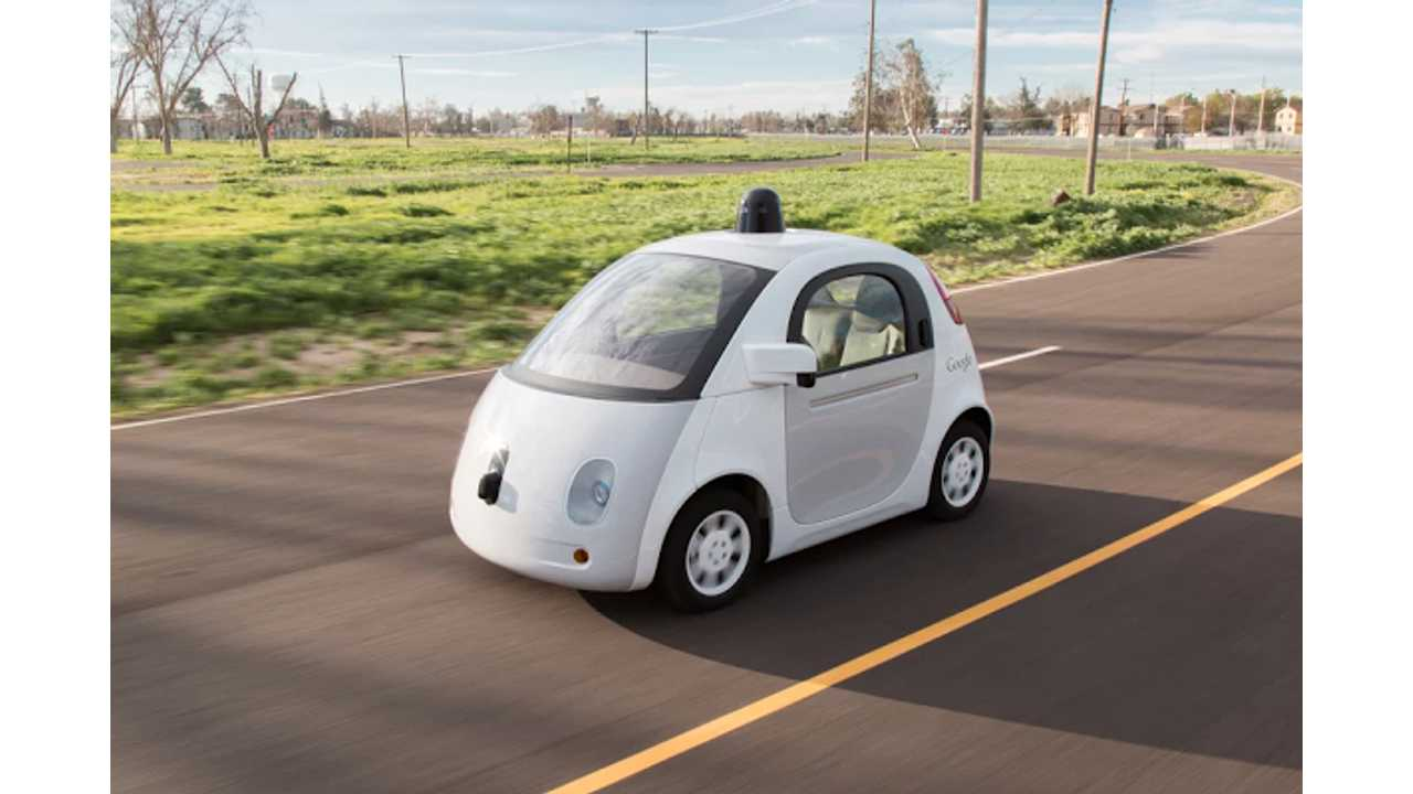 Google's Self-Driving Cars Are