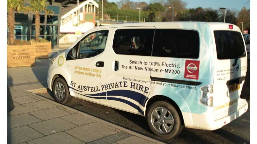Nissan e-NV200 Taxi Saves Fleets So Much Cash That It's Like Getting A License To Print Money
