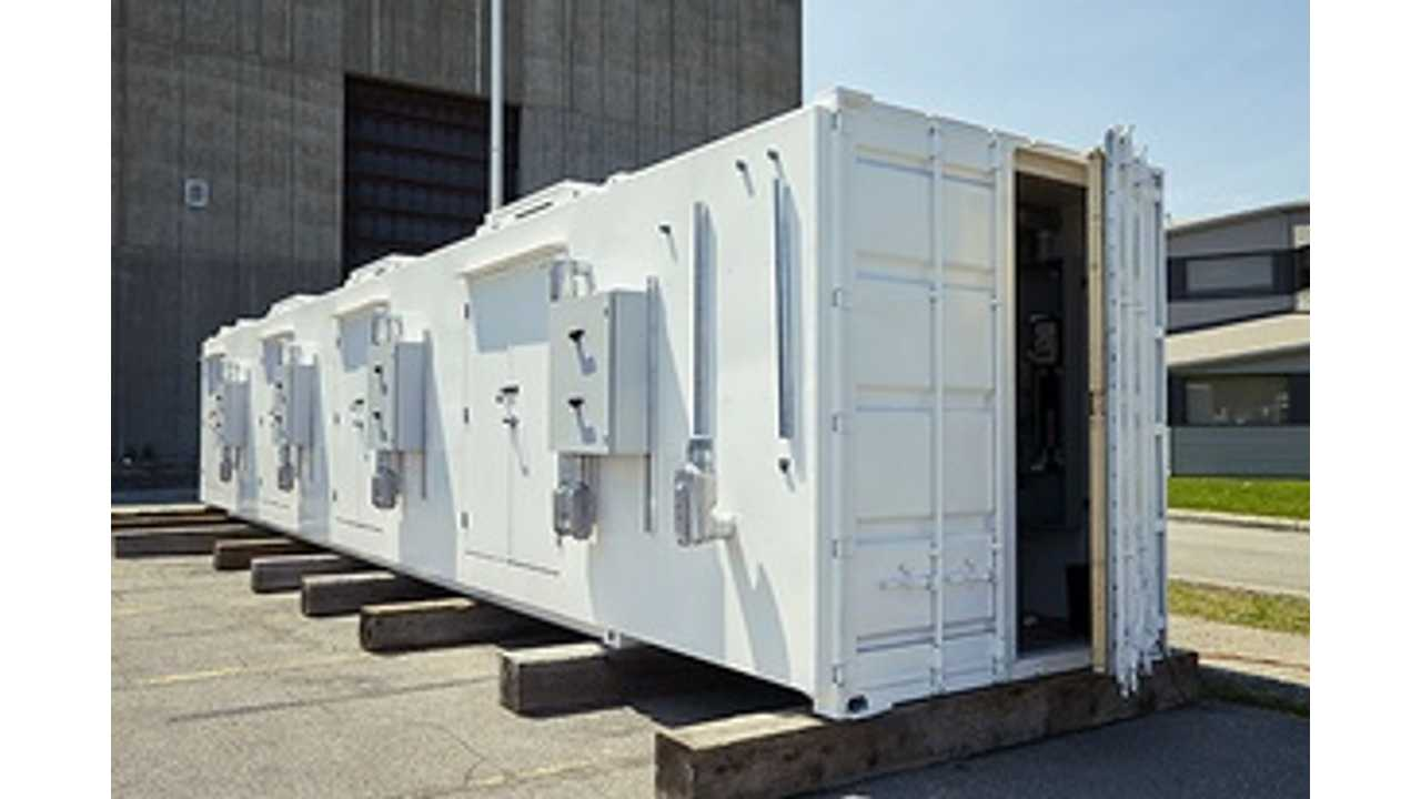 Large-capacity energy storage system prototype