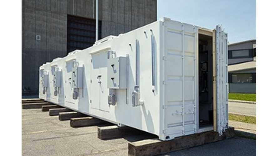Esstalion Technologies (Sony & Hydro-Quebec JV) To Begin Testing 1.2 MWh Battery Energy Storage System