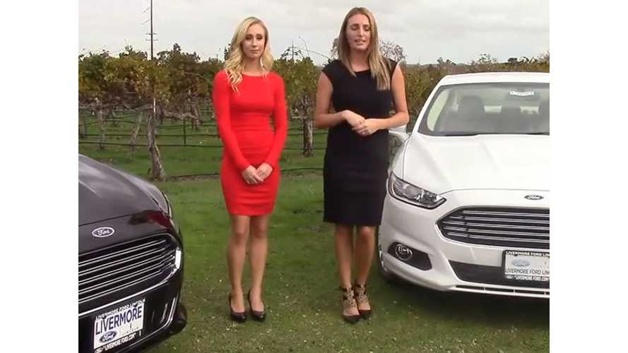 2015 Ford Fusion Energi SE Compared To Titanium Version - Video