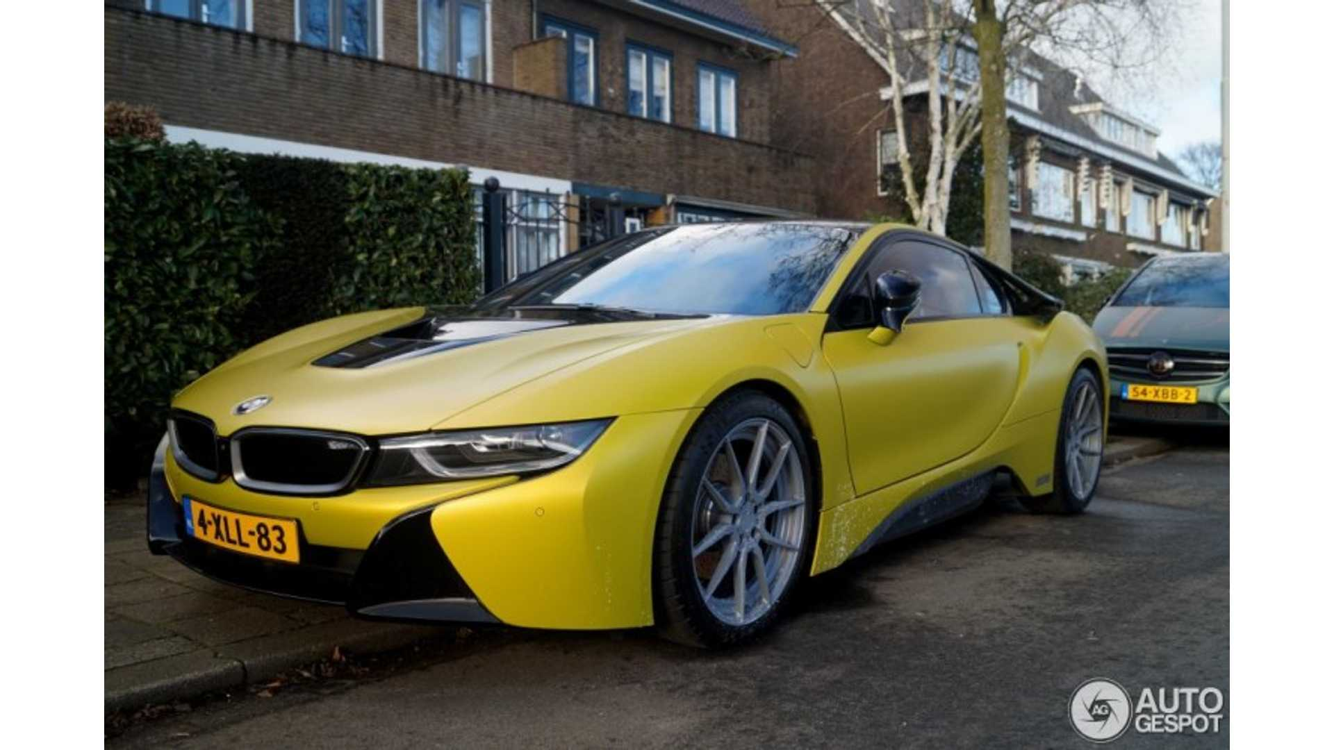 Yellow Bmw I8 Spotted
