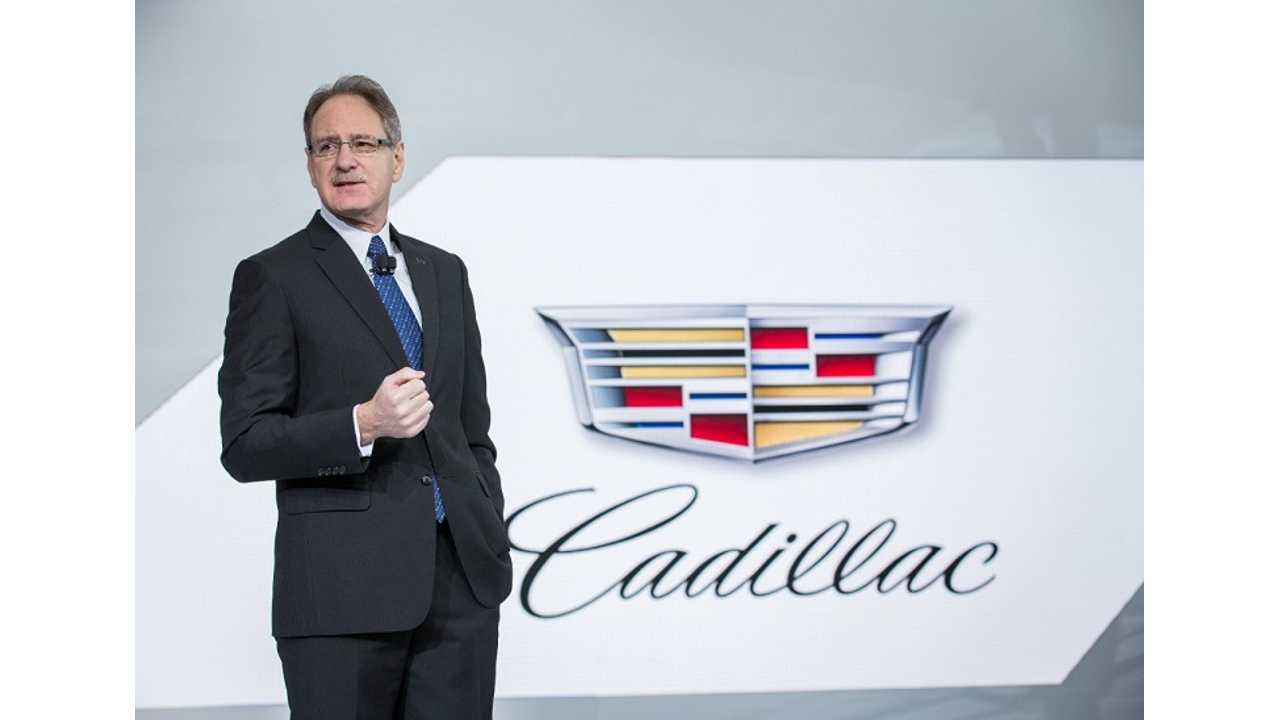 Cadillac Boss: Plug-In Technology To Be Applied Across Entire Lineup