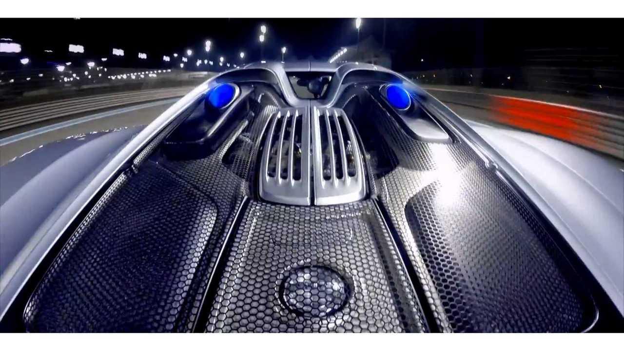 Porsche 918 Spyder - Top Gear BBC
