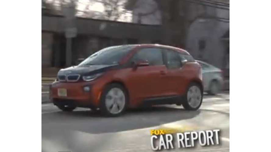 Road-Tripping In BMW i3 REx - Video