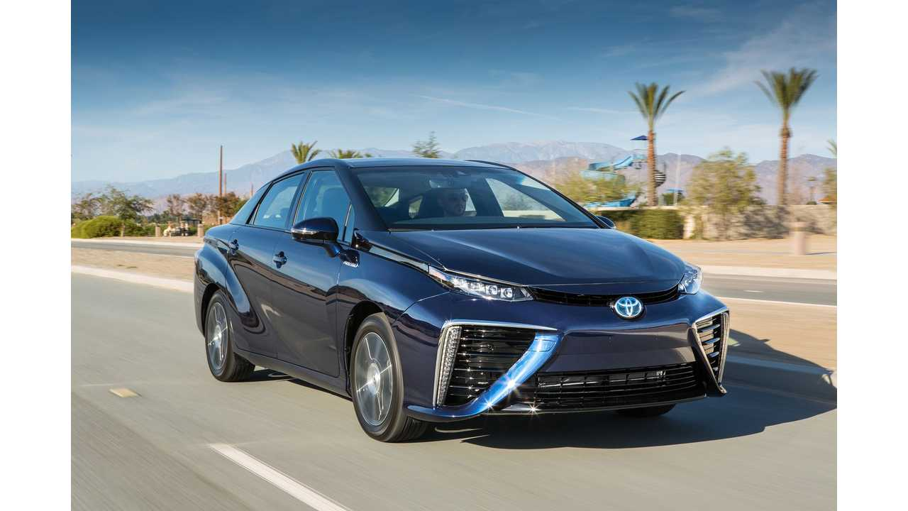 Toyota Mirai The 8 000 Hydrogen Fuel Cell Vehicle Tax Credit