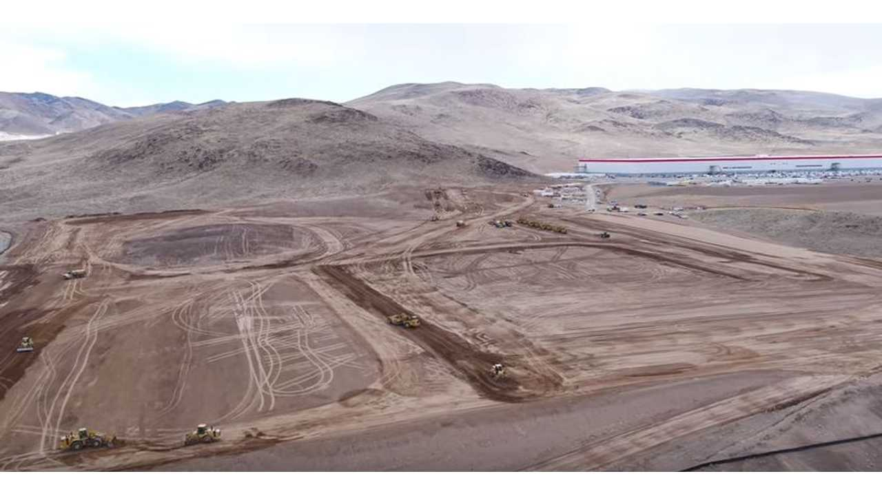 Latest Tesla Gigafactory Flyover Shows Expansion Underway