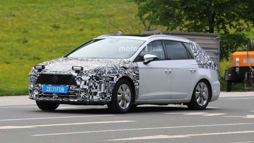 Seat Leon Test Mule Spied - Plug-In Hybrid Due In 2020
