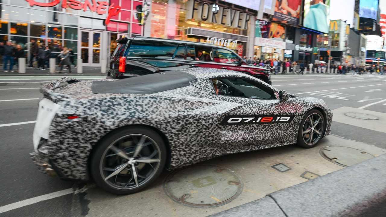 C8 Corvette Announcement New York