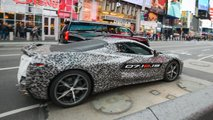 C8 Corvette Announcement New York