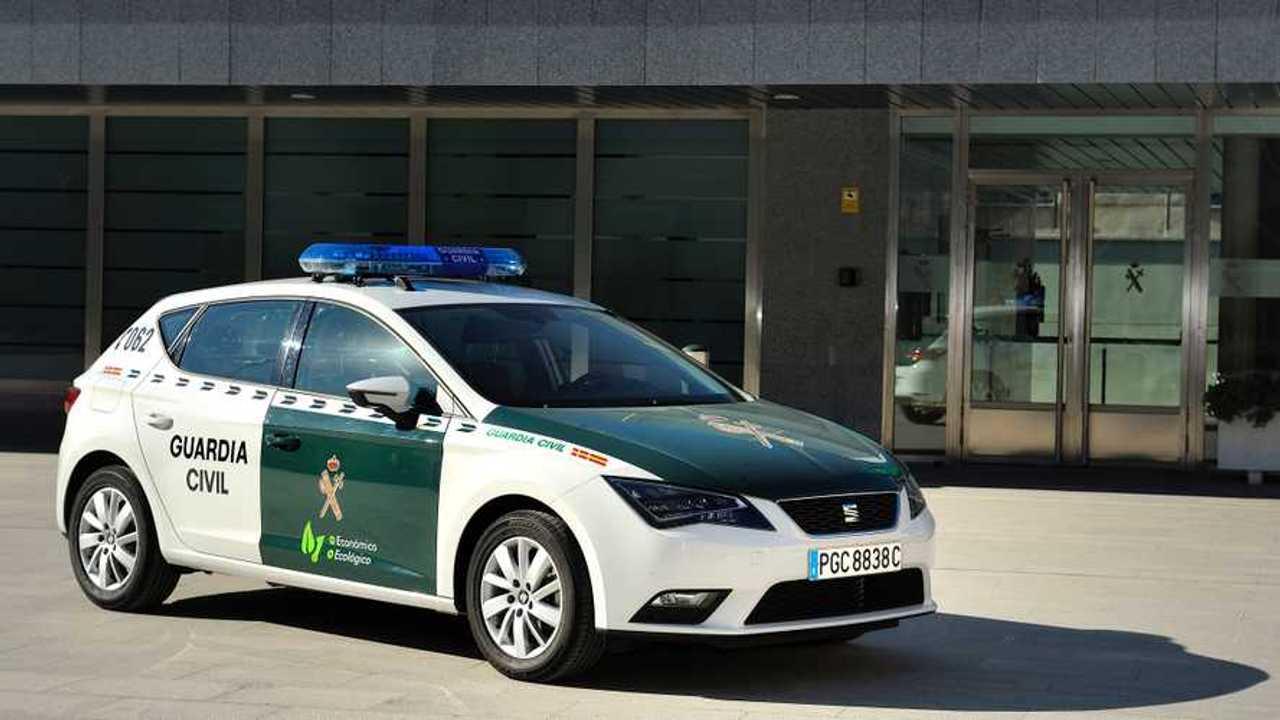 SEAT León TGI Guardia Civil