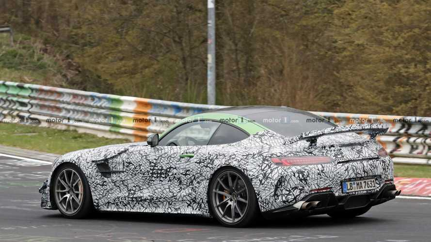 Mercedes-AMG GT Black Series 2019 foto spia
