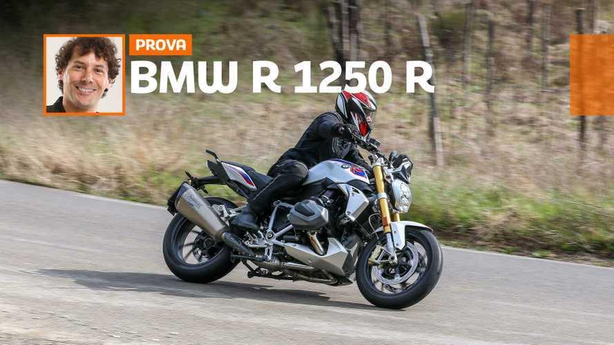 BMW R 1250 R, la prova su strada