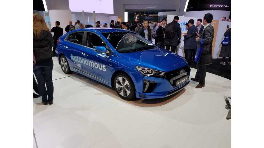 Hyundai Presents Autonomous IONIQ Electric Prototype at 2017 CES
