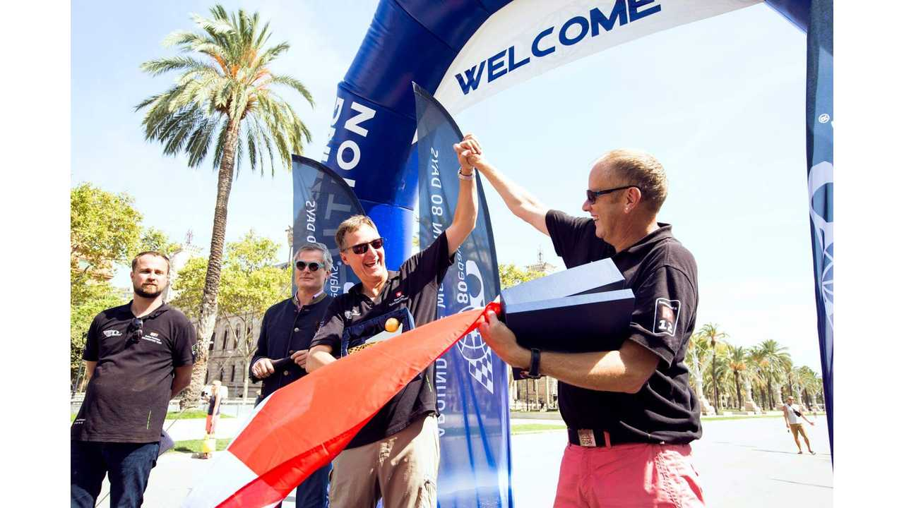 80edays Completed: Around-The-World Electric Vehicle Rally