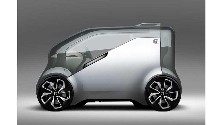 "Honda Teases Its ""Cooperative Mobility Ecosystem"", Weird EV Commuters - Video"