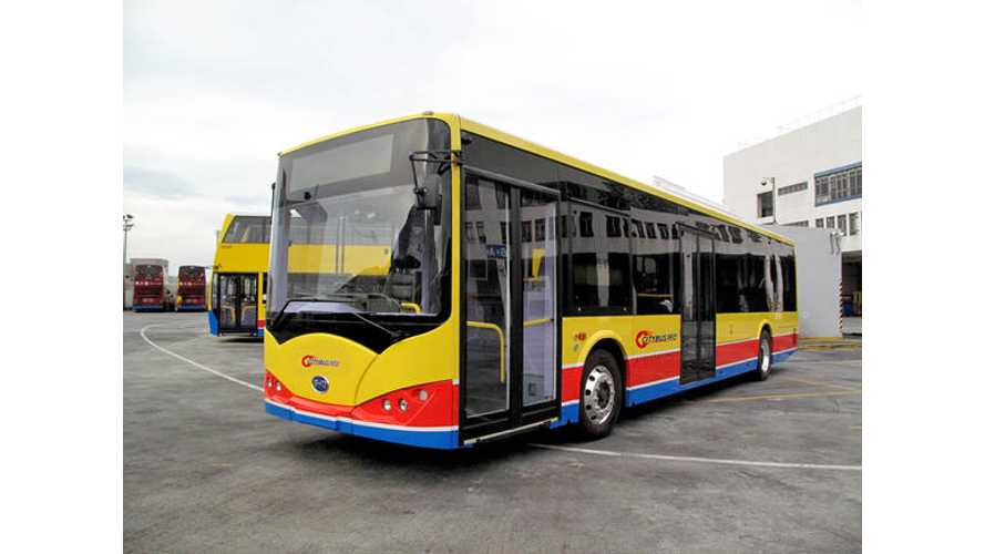 Hong Kong To Get Electric Buses This Year