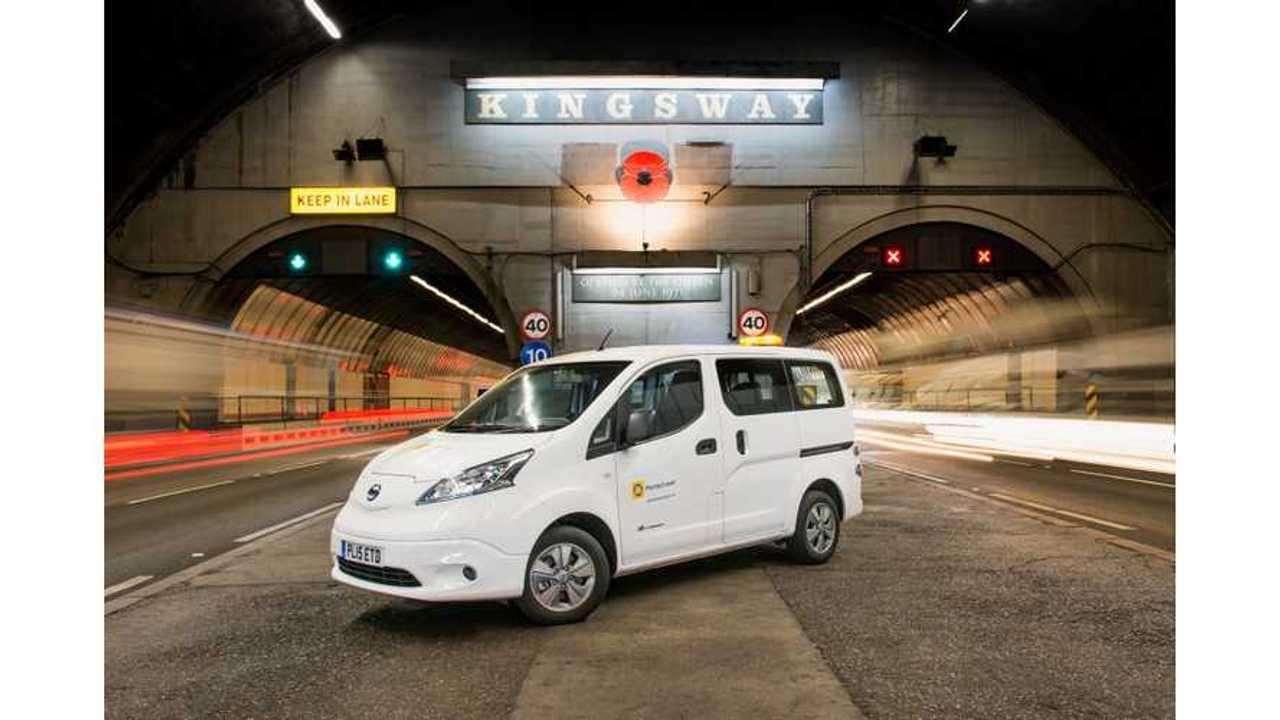 Nissan e-NV200 Goes Underground