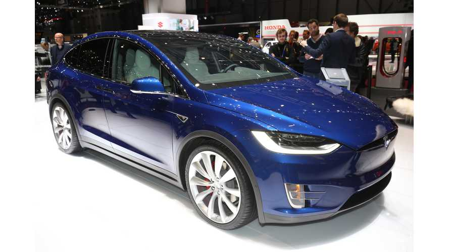 Tesla Model X At 2016 Geneva Motor Show (Photos,Videos), Euro Signature Editions Priced